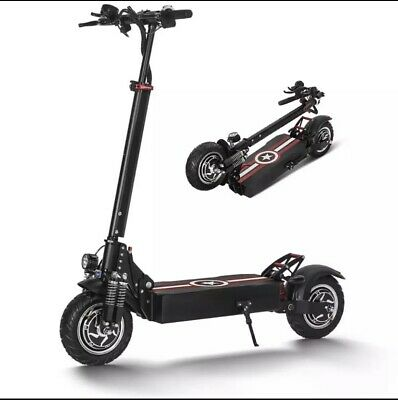 ELECTRIC SCOOTER DUAL MOTOR 48-52v 2000-2600 W  LED LIGHTS, ALARM BRAND NEW CE • 999£