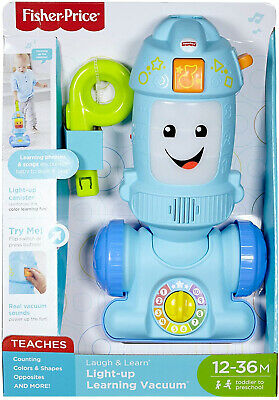 Fisher-Price Light-up Learning Vacuum Baby And Toddler Push Toy • 24.99£