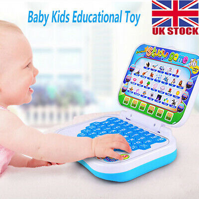 New Baby Kids Pre School Educational Learning Study Toy Laptop Computer Game • 8.99£