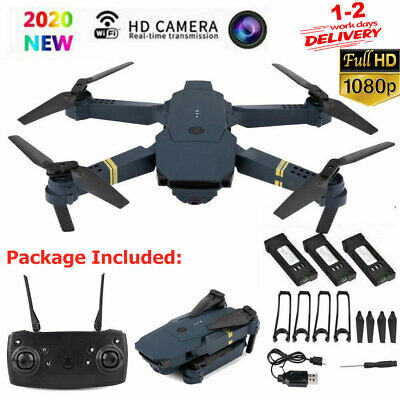 Drone X Pro WIFI FPV 4K/1080P Camera 3 Batteries Foldable Selfie RC Quadcopter X • 31.43£