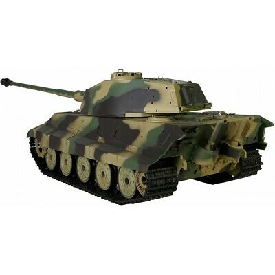Heng Long 1:16 King Tiger Henschel Rc Tank With Smoke And Sound • 157.95£
