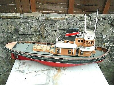 Vintage,well Detailed,quite Large Radio Controlled Boat • 140£