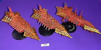 3 Chaos Cruisers For Battlefleet Gothic - Games Workshop / Citadel (Plastic)  • 44.99£