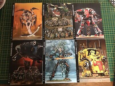 Games Workshop - WARHAMMER VISIONS = Issues 1 To 8 • 10£