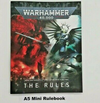 Warhammer 40K 9th Edition Rulebook Small A5 Mini Command Edition  • 14£