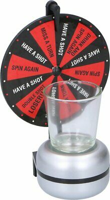 Spin Shot Drinking Game Turntable Roulette Glass Spinning Party Home Adult • 5.80£