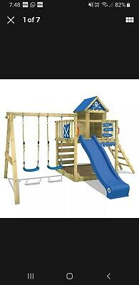 Kids Climbing Frame With Swings And Slide • 360£