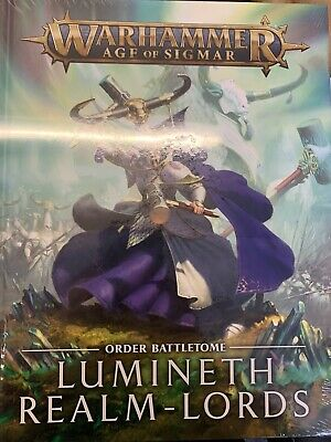 Warhammer Age Of Sigmar Battletome Lumineth Realm-Lords New Sealed • 17£