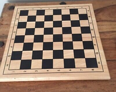 Wooden Chess Board - Solid • 25£