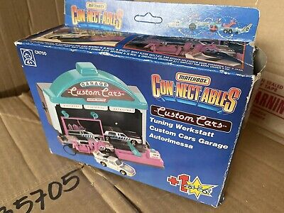 Matchbox Connectables Custom Cars Garage, Boxed, CN700 • 22.97£