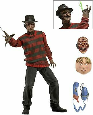 NECA Ultimate Freddy Nightmare On Elm Street 7  Action Figure (NEW BOXED) • 17.99£