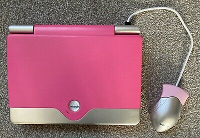 VTech Challenger Laptop40 Curriculum Activities Mouse And QWERTY Keyboard - Pink • 6.40£