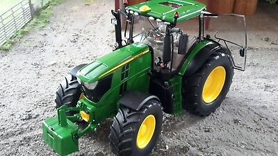Wiking 1/32 Scale John Deere 6250r Model Tractor With Weight (mib) • 64.99£