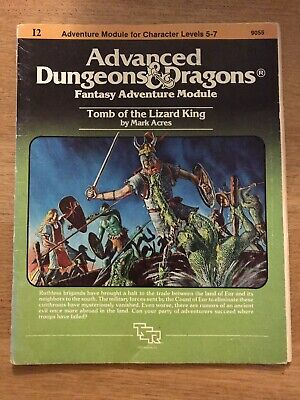 AD&D Module I2 G1 Tomb Of The Lizard King • 21£