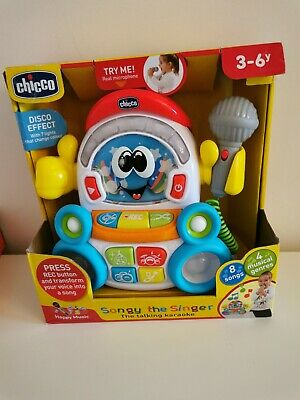 Rare Chicco Songy The Singer Musical Toy • 17.99£