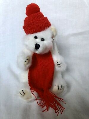 Peppermint The Bear Ty Attic Treasures Hat Scarf New With Tags • 7.99£
