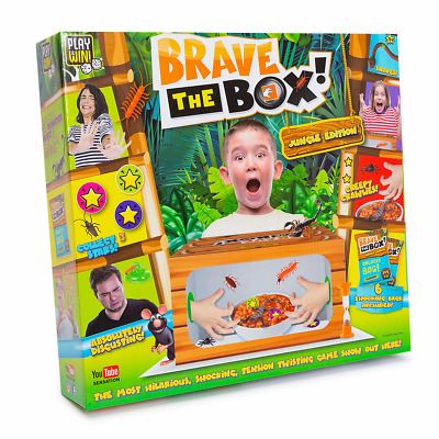 Play & Win Brave The Box Game • 10£
