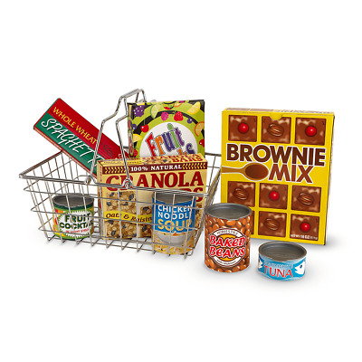 Melissa & Doug Shopping Basket • 12£