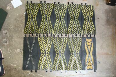 10 X SCALEXTRIC CLASSIC TRACK CROSSOVER CHICANE STRAIGHTS 1/32 JOBLOT G16 • 10£