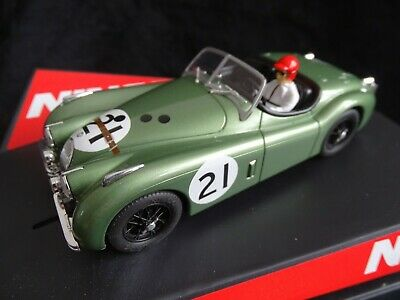 NINCO (SCALEXTRIC) REF:50695 JAGUAR XK120 LE MANS 1951 GREEN No21 MINT BOXED • 24£
