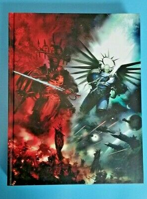Warhammer 40K 9th Edition Rulebook FULL SIZE A4 From INDOMITUS BOXED SET  • 19£