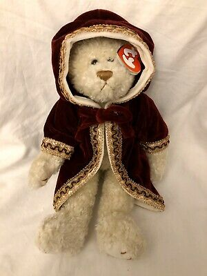 Gem Bear Ty Attic Treasures Embroidered Cloak 13 Inch Jointed Legs New With Tags • 16.99£