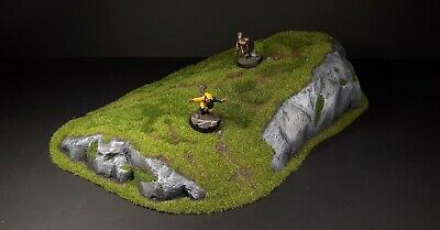 Large Hill 28mm Scale Scenery, Warhammer Fantasy Age Of Sigmar, 40k, LoTR, D&D • 25£