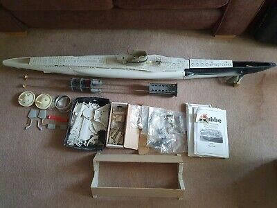 Robbe U47 RC Submarine 1/40 With Dream Arts Conning Tower + • 350£