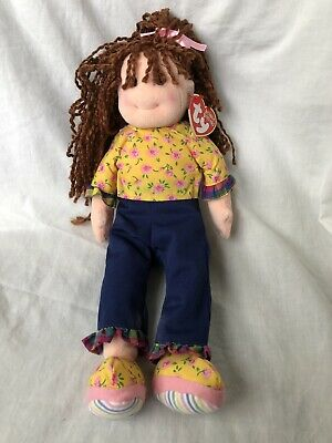Loveable Lulu Ty Beanie Boppers Doll New With Tag • 10.99£