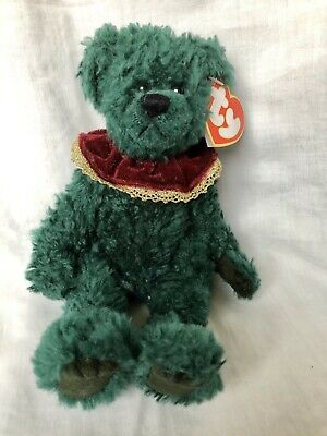 Laurel The Bear Ty Attic Treasures Articulated Arms Legs Green New With Tags • 8.99£