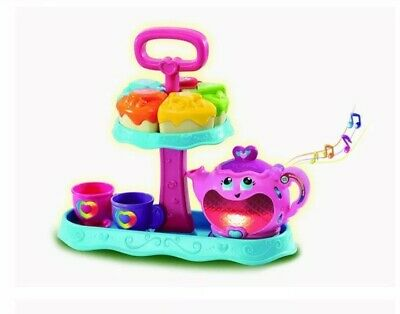 Immaculate LeapFrog Musical Rainbow Party Tea Set With Shape Sort Lights & Songs • 6.99£