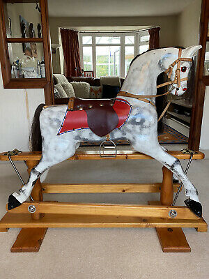 Traditional Wooden Rocking Horse Large • 779£