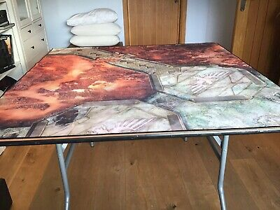 Folding Multi Games Table 4ft Square. (Mat And Models Not Included) Hardly Used • 20£