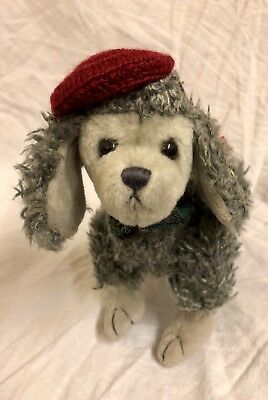 Cheri The Poodle Ty Attic Treasures New With Tags Articulated Legs Grey Soft Toy • 6.99£