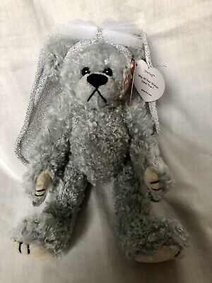 Sterling The Silver Angel Bear Ty Attic Treasures Articulated Legs New With Tags • 9.99£