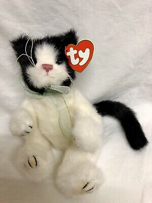 Arlen Black And White Cat Attic Treasures Articulated Arms Legs New With Tags • 7.99£