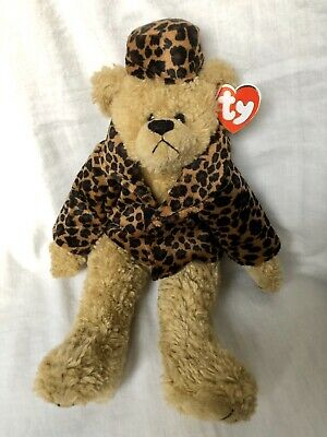 Isabella Bear Ty Attic Treasures Coat Hat Articulated Arms Legs New With Tags • 12.99£