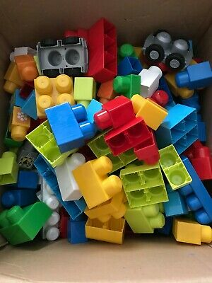 Mega Bloks Bold Colours, Mixed Box Of Over 200 Pieces • 4.99£