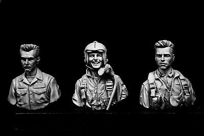 1/9 V-busts Set US Navy Pilots • 55£