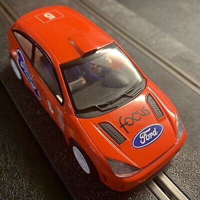 Scalextric C2295 Ford Focus Car Red No 5 • 9.95£
