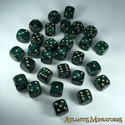 Unusual Playing Dice 14mm - Ideal Warhammer 40K / LOTR / Age Of Sigmar D4 • 9.99£