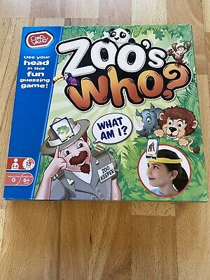 Zoo's Who Educational Game • 7.99£