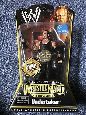WWE WrestleMania Heritage Commemorative 1/1000 Undertaker RARE • 2.70£