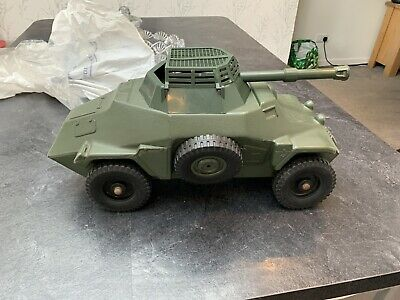 Vintage Action Man German Armoured Car Vehicle, Un-boxed, Palitoy • 130£