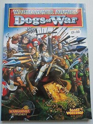 Warhammer Fantasy Dogs Of War Army Book 1998 • 2.20£