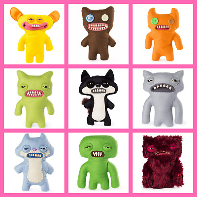 HUGE SELECTION 9  FUGGLER PLUSH Funny Ugly Monster W/Teeth BUY 1 Get 2nd 50% OFF • 11.99£