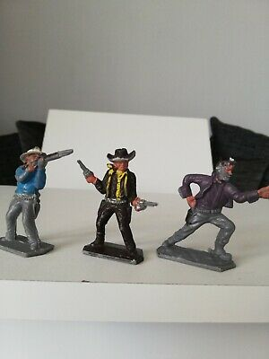 3 Original Vintage Lone Star Figures • 5.90£