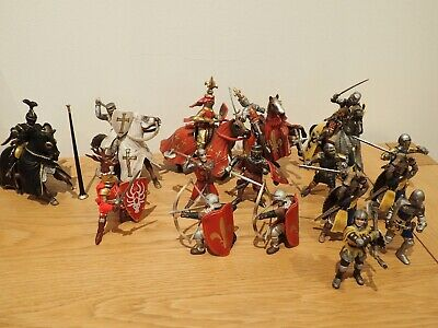 Schleich Knights And Horses Bundle - Some Rare • 21£