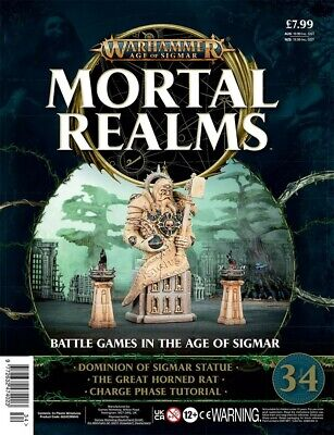 Warhammer Age Of Sigmar Mortal Realms 34 With Dominion Of Sigmar Statue • 12.95£