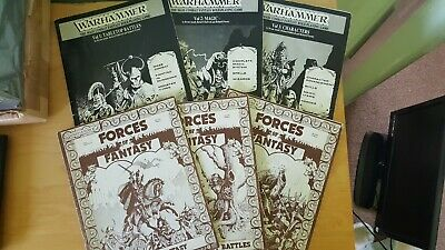 Warhammer Rare 1st Edition Rules And Forces Of Fantasy Expansion • 20£